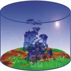 Малогабаритный метеорологический радар MMR-50